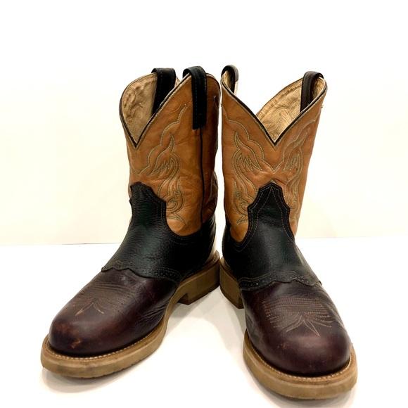 Brahma - Round Toe Cowboy Boot